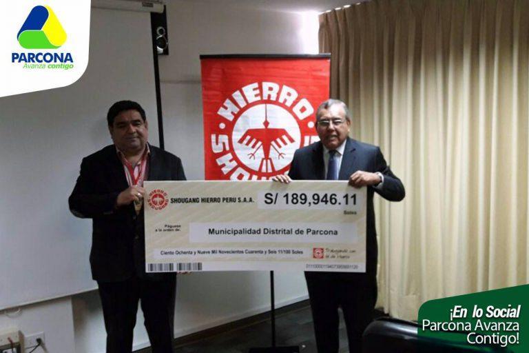 El Ing. Pepe Gálvez, participó de una reunión con los altos funcionarios de la empresa SHOUGANG HIERRO PERU