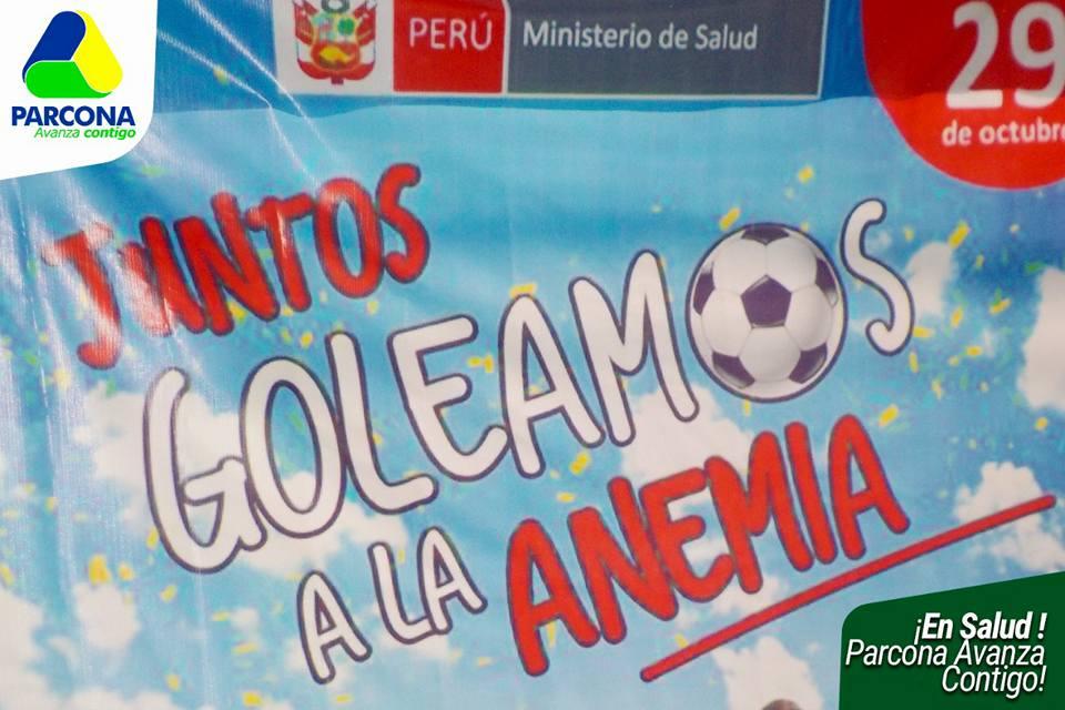El Centro de Salud Parcona con el apoyo de La Municipalidad vienen realizando la CAMPAÑA DE DESPISTAJE DE ANEMIA