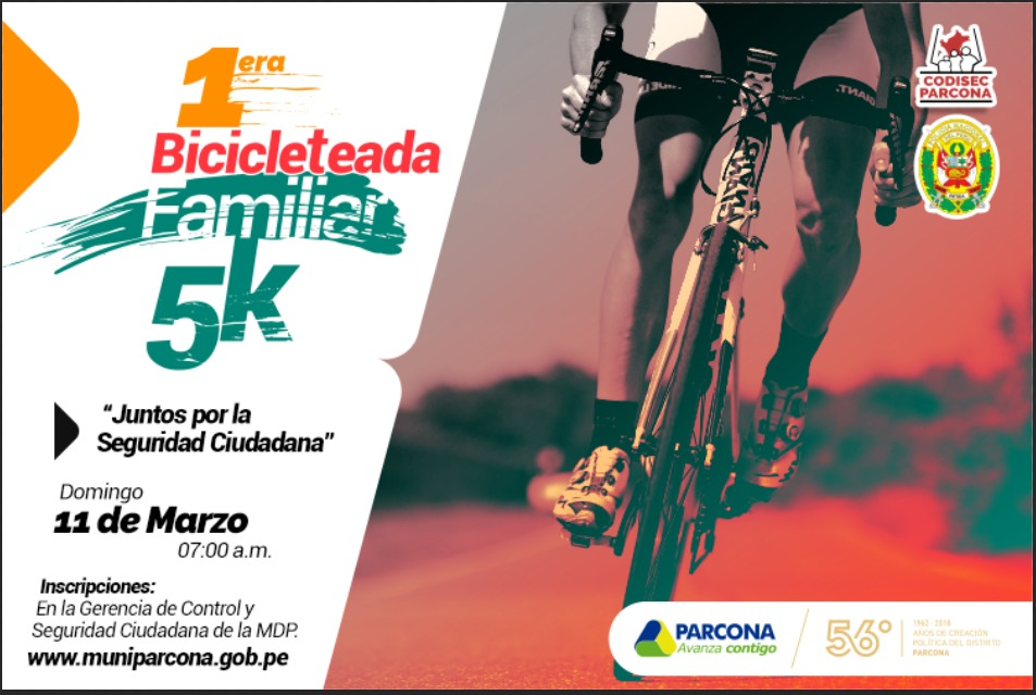 1era Bicicleteada Familiar 5K